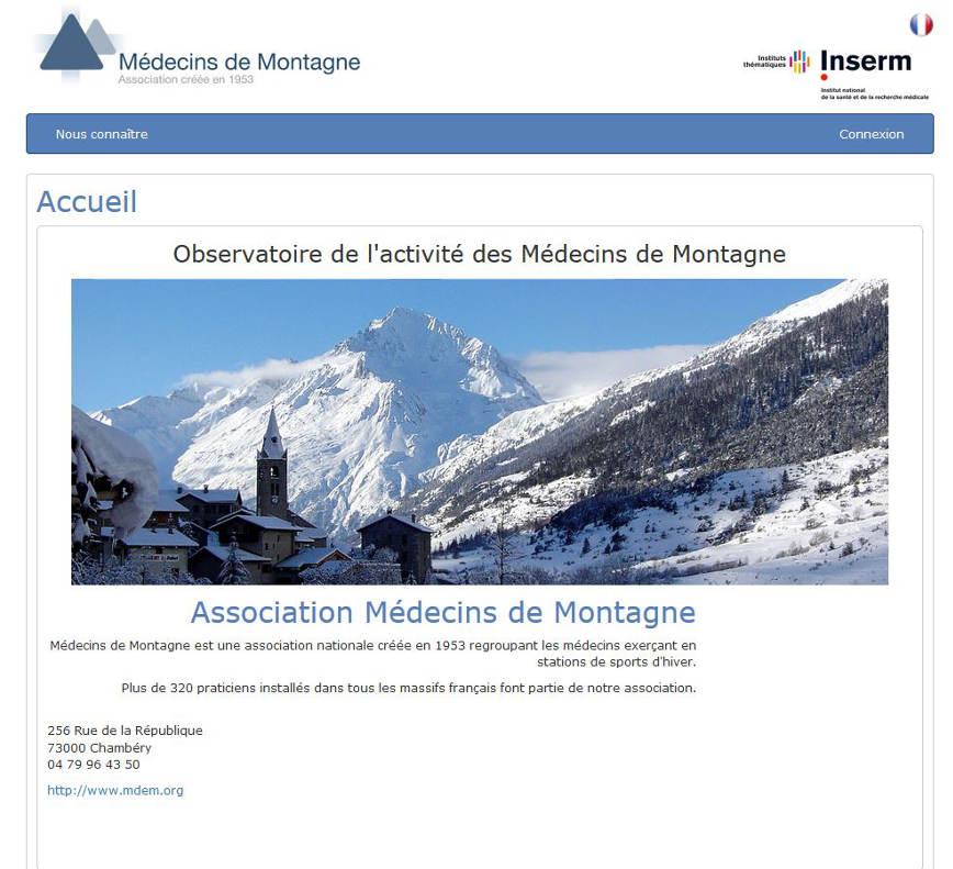 IRSAN Médecins de Montagne <span style='font-size: 8px' class='glyphicon glyphicon-refresh'></span>